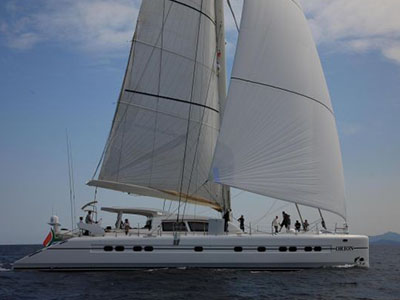 Preowned Sail Catamarans for Sale 2008 Catana 90