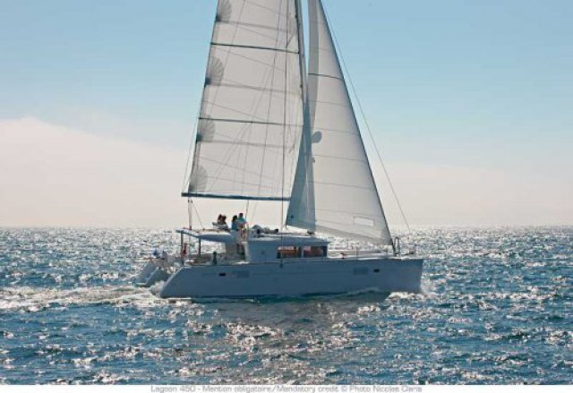 Catamarans DREAMING OF BLUE II, Manufacturer: LAGOON, Model Year: 2011, Length: 45ft, Model: Lagoon 450, Condition: USED, Listing Status: Under Negotiation, Price: USD 617000