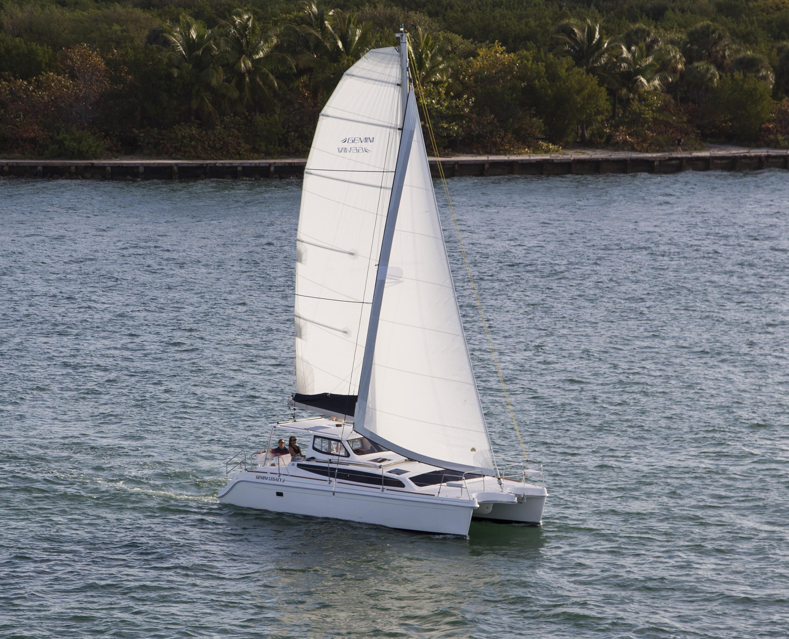 Catamarans HULL 1200, Manufacturer: GEMINI CATAMARANS, Model Year: 2015, Length: 35ft, Model: Legacy 35, Condition: NEW, Listing Status: Catamaran for Sale, Price: USD 299917