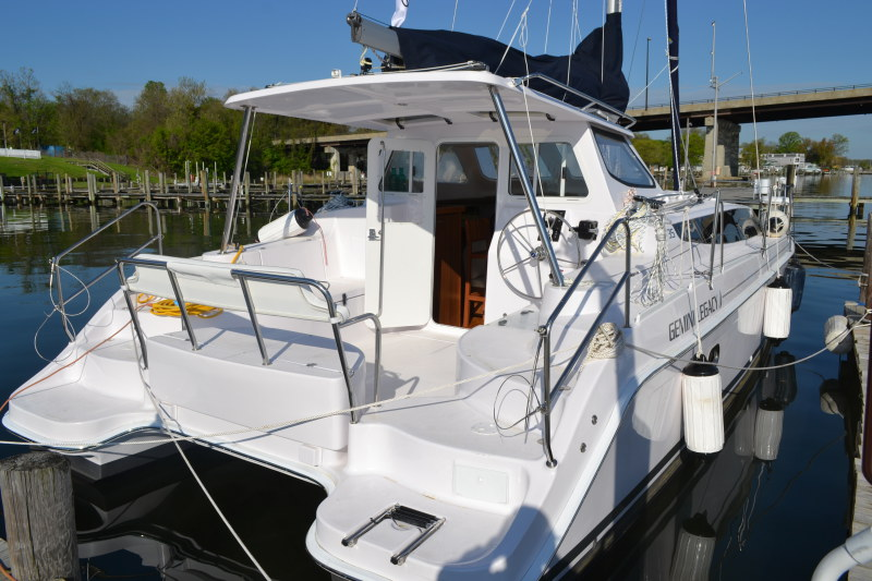 Catamaran for Sale Legacy 35  in Edgewater  Maryland (MD)  HULL 1202 Vessel Summary Preowned Sail