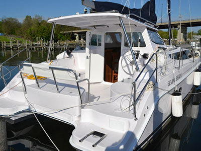 Catamarans HULL 1202, Manufacturer: GEMINI CATAMARANS, Model Year: 2015, Length: 35ft, Model: Legacy 35, Condition: Preowned, Listing Status: Catamaran for Sale, Price: USD 281961