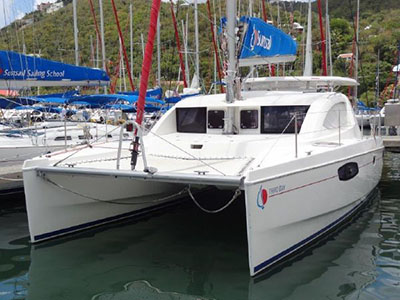 SOLD Leopard 47 PC   in Tortola British Virgin Islands TWIN SPIRIT Thumbnail for Listing Preowned Power