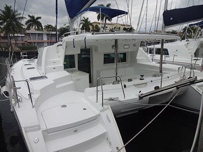 Catamaran for Sale Lagoon 440  in Fort Lauderdale Florida (FL)  FRANDALLAS  Preowned Sail