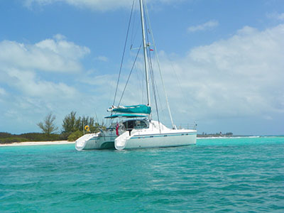 Catamarans DREAM ON, Manufacturer: ALLIAURA MARINE, Model Year: 1999, Length: 47ft, Model: Privilege 465, Condition: Preowned, Listing Status: Catamaran for Sale, Price: USD 365000