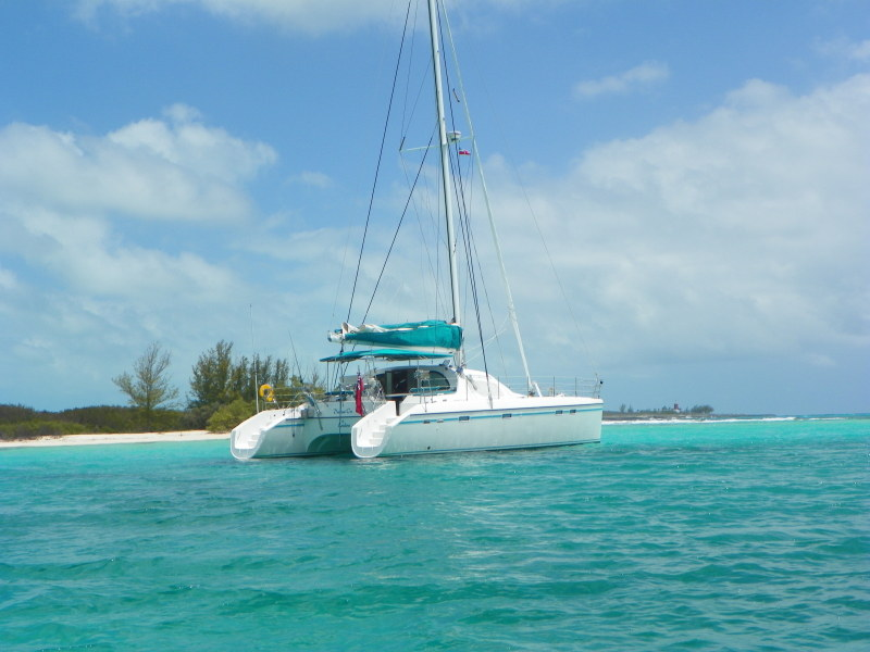 Catamarans DREAM ON, Manufacturer: ALLIAURA MARINE, Model Year: 1999, Length: 46ft, Model: Privilege 465, Condition: Preowned, Listing Status: Catamaran for Sale, Price: USD 335000
