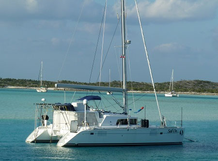 SOLD Lagoon 440  in Fort Lauderdale Florida (FL)  RELAX AWAY Vessel Summary Preowned Sail