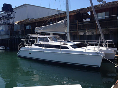 Catamaran for Sale Legacy 35  in San Diego California (CA)  THE FULL MONTE Thumbnail for Listing Preowned Sail