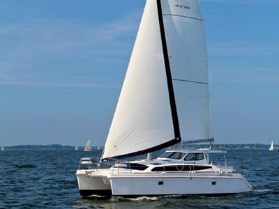 Catamarans MOONSHADOW, Manufacturer: GEMINI CATAMARANS, Model Year: 2014, Length: 35ft, Model: Legacy 35, Condition: Preowned, Listing Status: Catamaran for Sale, Price: USD 195000