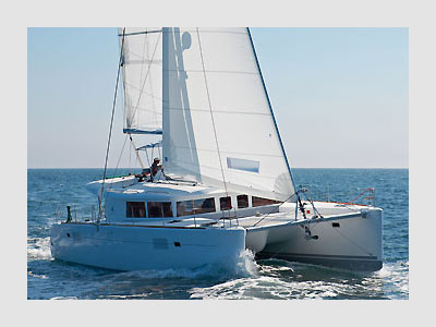 SOLD Lagoon 450 F  in En Route to Tortola, BVI En Route to Tortola, BVI ISABELLA BELEN Thumbnail for Listing New Sail