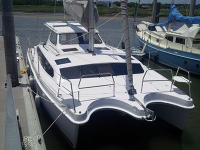 Catamarans HULL 1221, Manufacturer: GEMINI CATAMARANS, Model Year: 2016, Length: 35ft, Model: Legacy 35, Condition: NEW, Listing Status: SOLD, Price: USD 288433