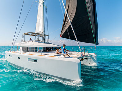SOLD Lagoon 52 F  in Ft Lauderdale, FL  SUMMER KAI Thumbnail for Listing New Sail
