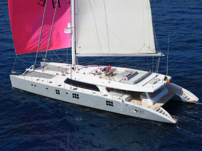 Launched Sail Catamaran for Sale  Sunreef 114