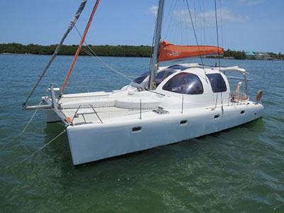 Catamaran for Sale Scape 39  in Islamorada Florida (FL)  WILD HONEY Thumbnail for Listing Preowned Sail
