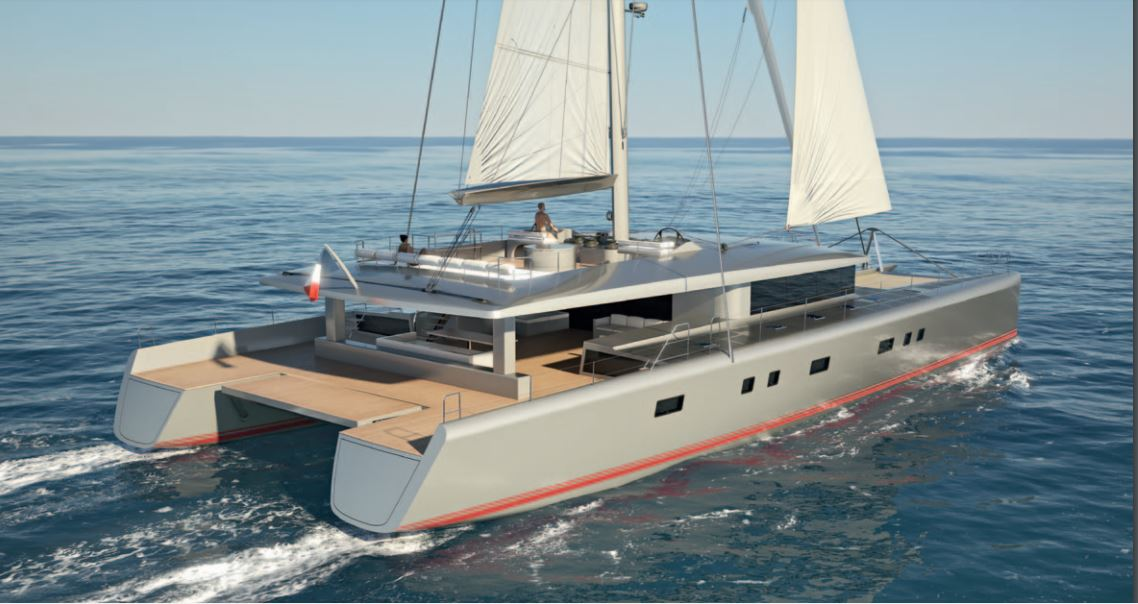 Custom Sail Catamarans for Sale  Van Peteghem - Lauriot Prevost 100 Custom