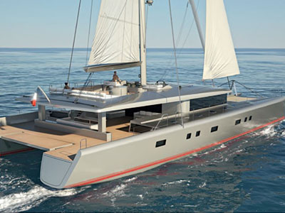 Sail Catamarans for Sale  Van Peteghem - Lauriot Prevost 100 Custom