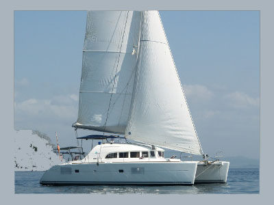 SOLD Lagoon 380 S2  in Boca del Toro Panama SOMNIO Thumbnail for Listing Preowned Sail