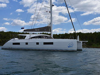 Catamarans BELLEFOLIE, Manufacturer: NAUTITECH, Model Year: 2015, Length: 54ft, Model: Nautitech 542, Condition: Preowned, Listing Status: Catamaran for Sale, Price: USD 995000