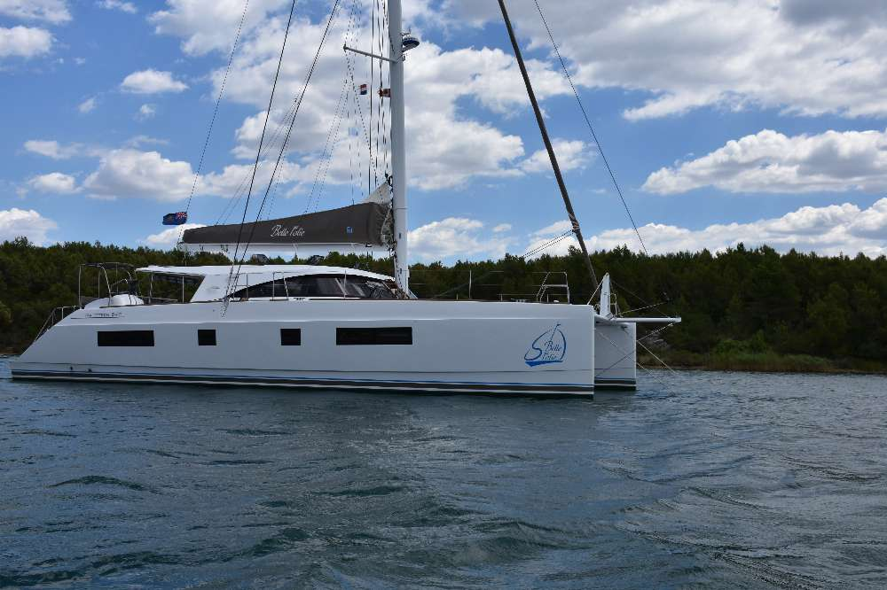 NINE Catamarans For Sale. 51 TO 54 feet in length.