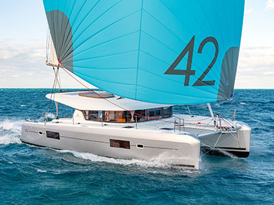New Sail Catamaran for Sale 2020 Lagoon 42