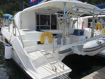 Catamarans BLUE JEAN, Manufacturer: ROBERTSON & CAINE, Model Year: 2011, Length: 37ft, Model: Leopard 39, Condition: Preowned, Listing Status: Catamaran for Sale, Price: USD 212634