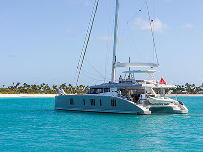 New Sail Catamarans for Sale  Sunreef 74