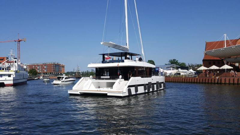 Catamaran for Sale Sunreef Supreme 68-S  in Gdansk Poland BROCHURE-SUNREEF SUPREME 68 SAILING  Brochure Sail