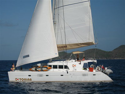 Catamarans TONINA, Manufacturer: LAGOON, Model Year: 2007, Length: 50ft, Model: Lagoon 500, Condition: Preowned, Listing Status: Catamaran for Sale, Price: USD 499000