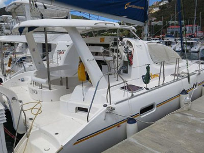 Catamarans SLIM CHANCE, Manufacturer: ROBERTSON & CAINE, Model Year: 2009, Length: 39ft, Model: Leopard 40, Condition: Preowned, Listing Status: Catamaran for Sale, Price: USD 219000