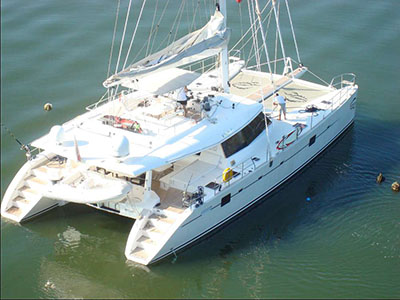 Used Sail Catamaran for Sale 2006 Sunreef 62