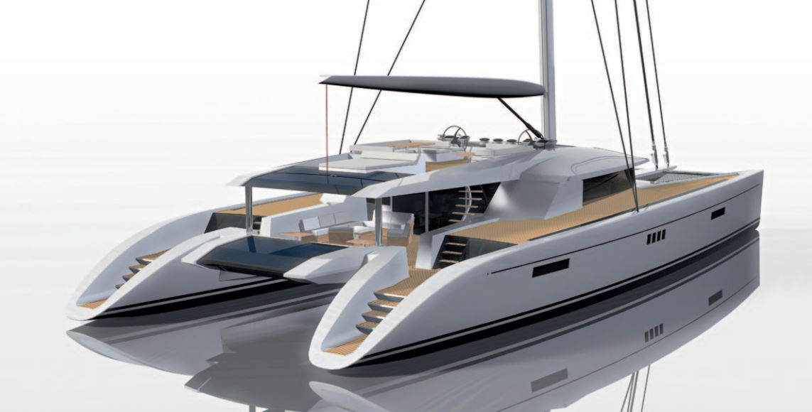Custom Sail Catamarans for Sale  Berret-Racoupeau 100 Custom