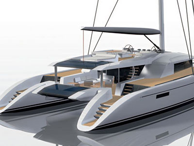 Sail Catamarans for Sale  Berret-Racoupeau 100 Custom