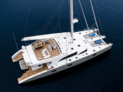 Launched Sail Catamaran for Sale  Sunreef 102 DD