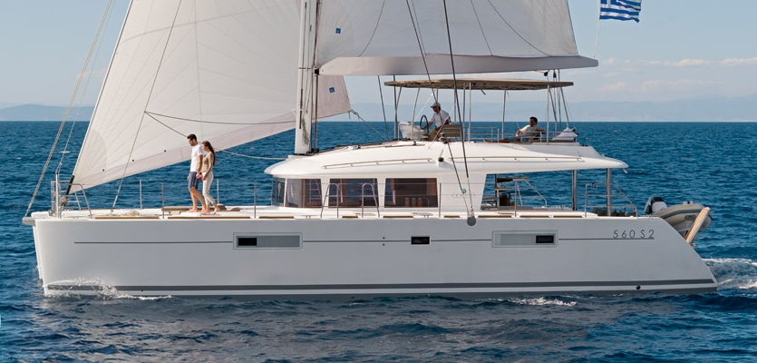 SOLD Lagoon 560 S2  in  A3  New Sail