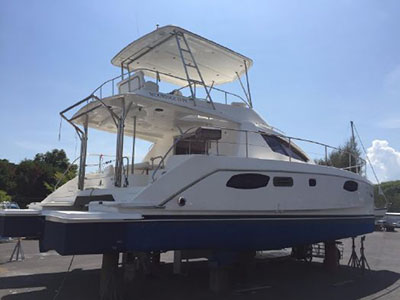 Catamarans MELLISSA, Manufacturer: ROBERTSON & CAINE, Model Year: 2012, Length: 39ft, Model: Leopard 39 PC, Condition: Preowned, Listing Status: Catamaran for Sale, Price: USD 251534