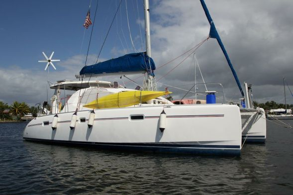 Catamaran for Sale Leopard 40  in Bahamas MYSTIQUE  Preowned Sail