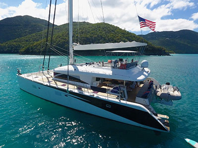 Catamaran for Sale Lagoon 620   in St. Thomas U.S. Virgin Islands LADY KATLO  Preowned Sail