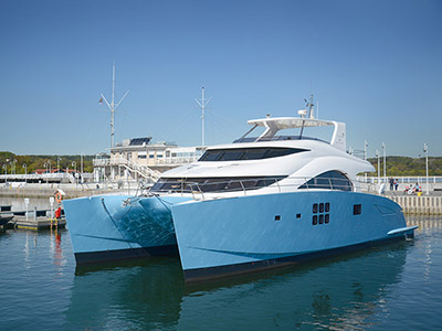Launched Power Catamarans for Sale  60 Sunreef Power