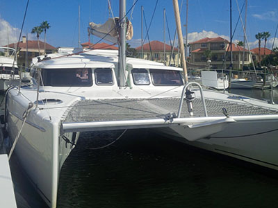 Preowned Sail Catamarans for Sale 2011 Mahe Evolution