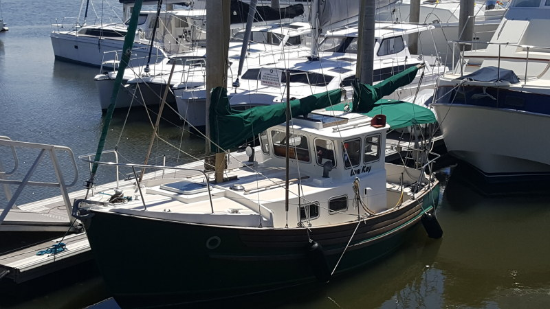 Catamarans LOW KEY, Manufacturer: FISHER, Model Year: 1979, Length: 25ft, Model: Pilot House 25, Condition: Preowned, Listing Status: Under Contract, Price: USD 35000