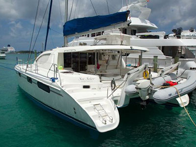 Catamarans SEA SENOR, Manufacturer: ROBERTSON & CAINE, Model Year: 2007, Length: 46ft, Model: Leopard 46 , Condition: Preowned, Listing Status: Catamaran for Sale, Price: USD 380000