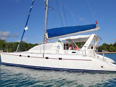 Catamarans SECOND CHANCE, Manufacturer: ROBERTSON & CAINE, Model Year: 2004, Length: 46ft, Model: Leopard 47, Condition: USED, Listing Status: Catamaran for Sale, Price: USD 275000