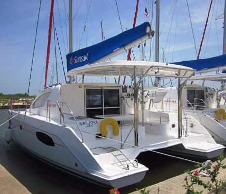 Used Sail Catamaran for Sale 2011 Leopard 38