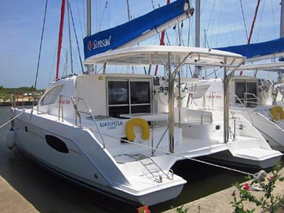 Catamarans WYUNA, Manufacturer: ROBERTSON & CAINE, Model Year: 2005, Length: 46ft, Model: Leopard 47, Condition: Preowned, Listing Status: Catamaran for Sale, Price: USD 349000