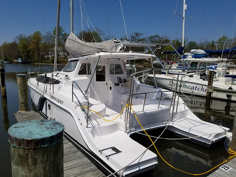 Catamarans HULL 1214, Manufacturer: GEMINI CATAMARANS, Model Year: 2016, Length: 35ft, Model: Legacy 35, Condition: New, Listing Status: Catamaran for Sale, Price: USD 289120