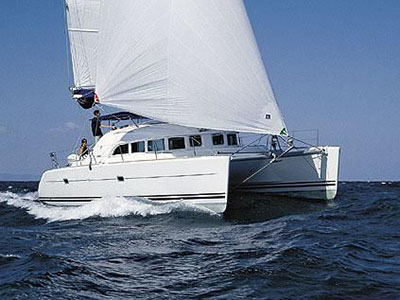 Catamaran for Sale Lagoon 380  in Fort Lauderdale Florida (FL)  WATER DOG Thumbnail for Listing Preowned Sail