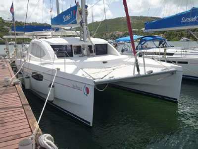 Catamarans DOU REVE III, Manufacturer: ROBERTSON & CAINE, Model Year: 2011, Length: 38ft, Model: Leopard 38, Condition: Preowned, Listing Status: Catamaran for Sale, Price: USD 199000