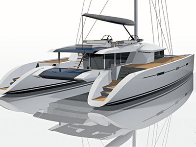 Custom Sail Catamarans for Sale  Berret-Racoupeau 76 Custom