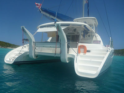 Used Sail Catamaran for Sale 2006 Leopard 46