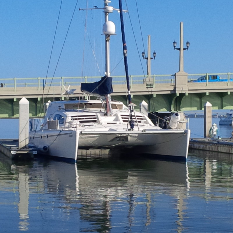 Preowned Sail Catamarans for Sale 2004 Leopard 47