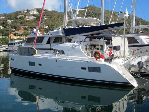 Catamarans LACHEZ PRISE, Manufacturer: LAGOON, Model Year: 2005, Length: 40ft, Model: Lagoon 410 S2, Condition: USED, Listing Status: Catamaran for Sale, Price: USD 189000